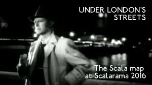 As the 2016 Scalarama DIY film festival begins, the London Underground is born anew as the Night Tube.  With Resonance FM, we invite the public to join us this September as nocturnal flâneurs, exploring the Scala map and links between London films and London locations.